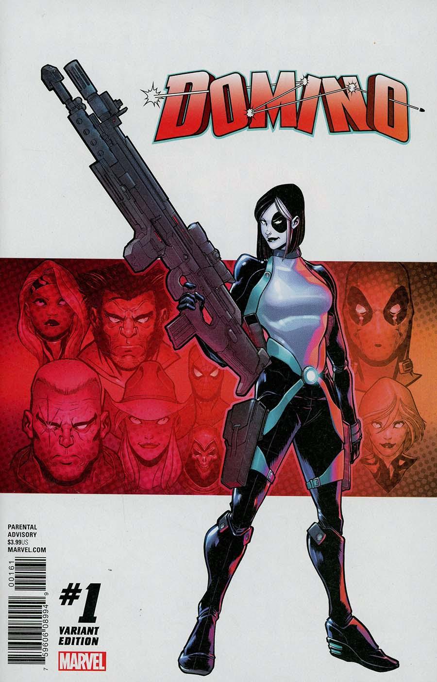 Domino Vol 3 #1 Cover E Incentive David Baldeon Variant Cover