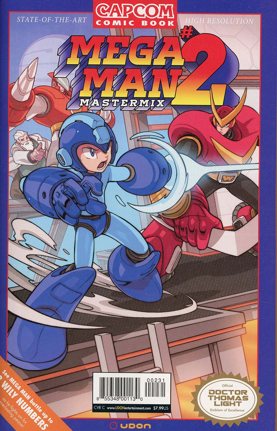 Mega Man Mastermix #2 Cover C Incentive Edwin Huang Variant Cover