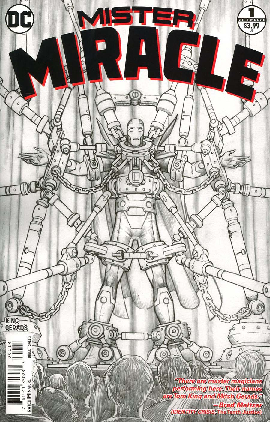 Mister Miracle Vol 4 #1 Cover F 4th Ptg Variant Nick Derrington Cover