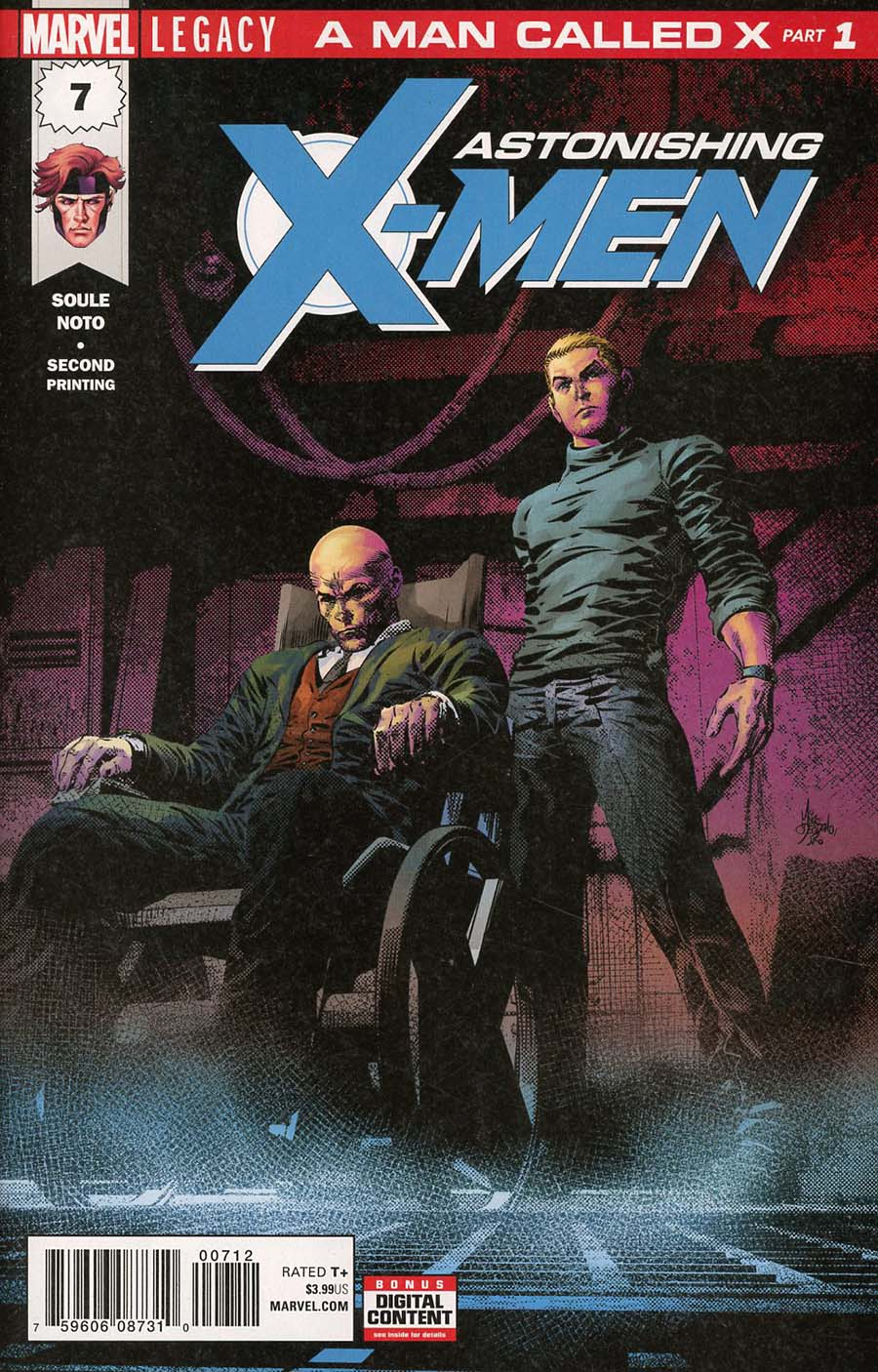 Astonishing X-Men Vol 4 #7 Cover I 2nd Ptg Variant Mike Deodato Jr Cover (Marvel Legacy Tie-In)