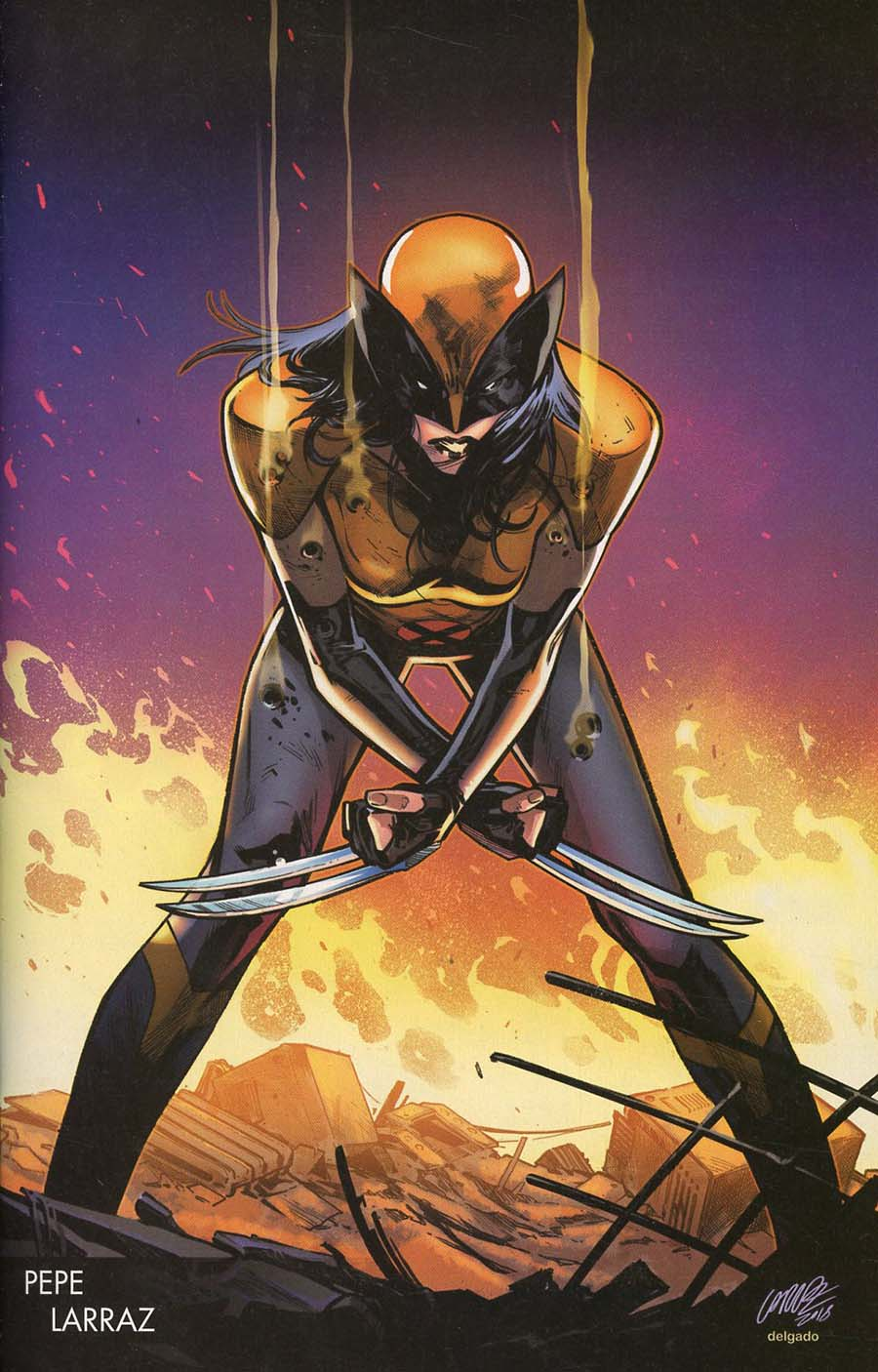 X-Men Red #1 Cover J Incentive Pepe Larraz Young Guns Variant Cover (Marvel Legacy Tie-In)