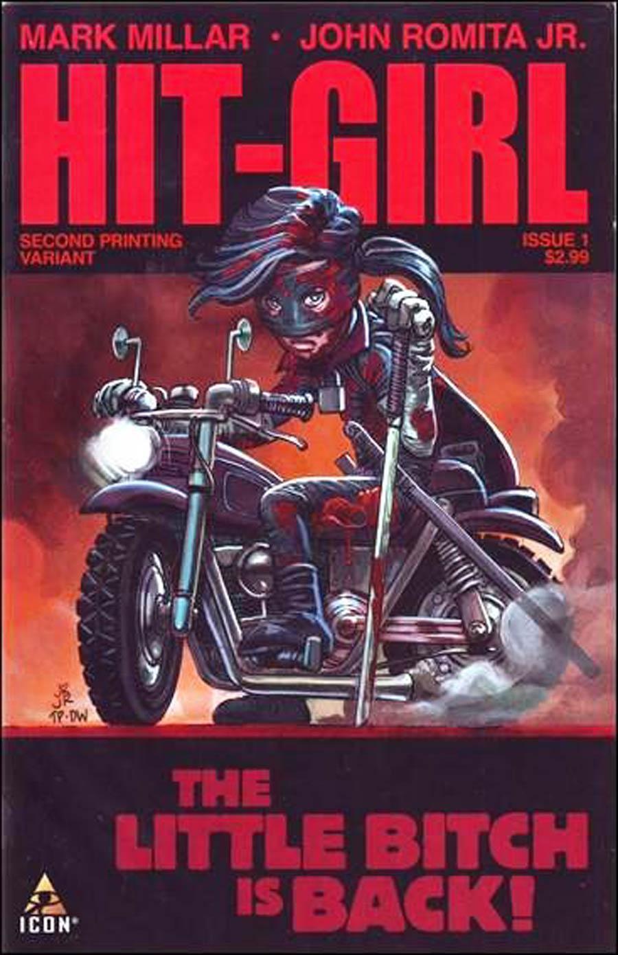 Hit-Girl #1 Cover F 2nd Ptg John Romita Jr Variant Cover