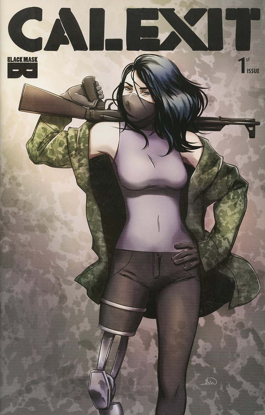 Calexit #1 Cover D 3rd Ptg Variant Ashley A. Woods Cover