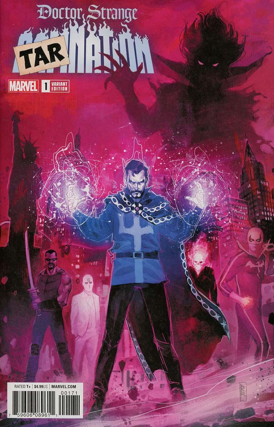 Doctor Strange Damnation #1 Cover E Variant Rod Reis Tarnation Cover