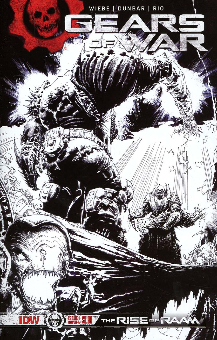Gears Of War Rise Of RAAM #1 Cover E 2nd Ptg Variant Ryan Brown Cover