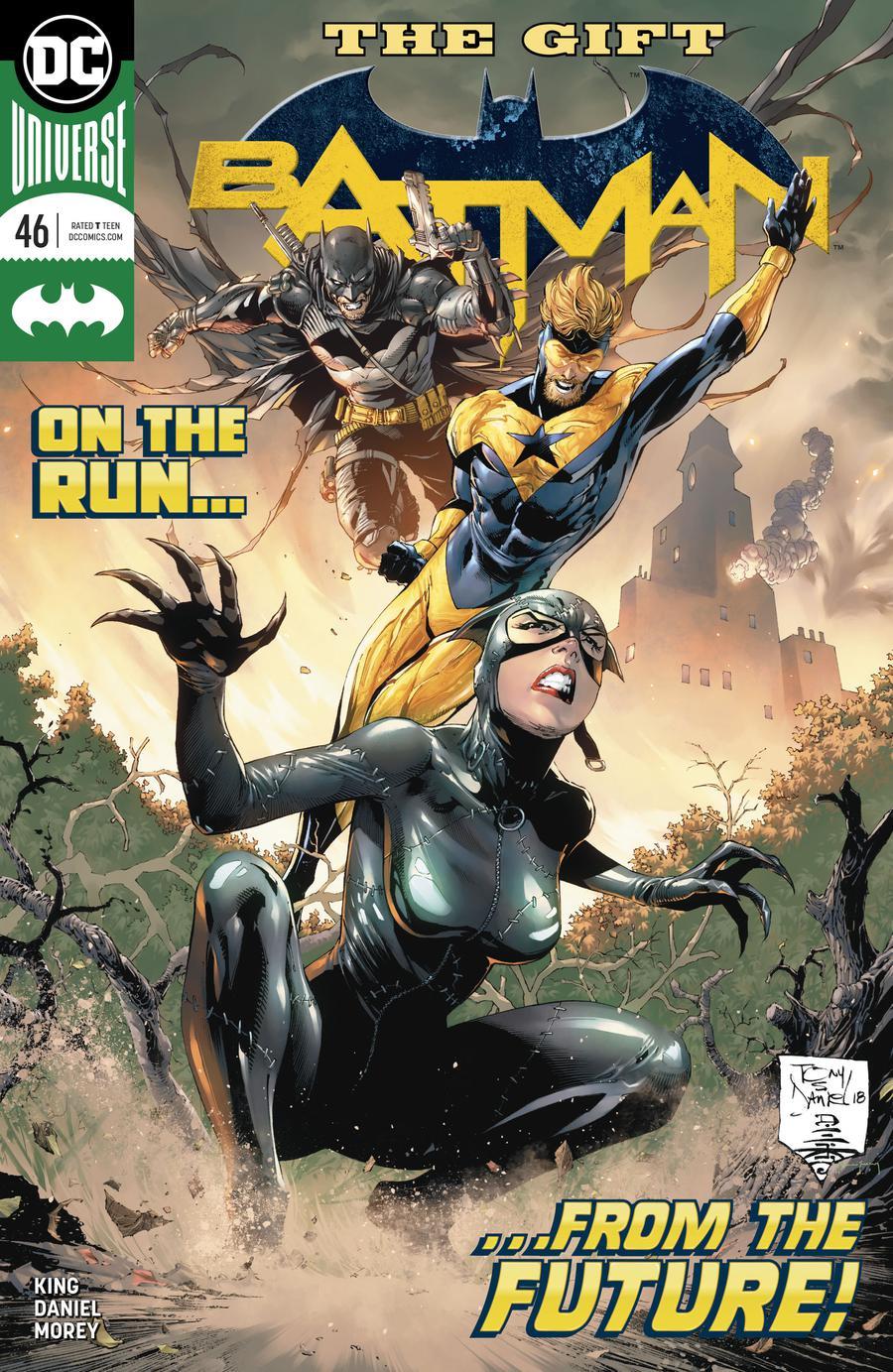 Batman Vol 3 #46 Cover A Regular Tony S Daniel Cover