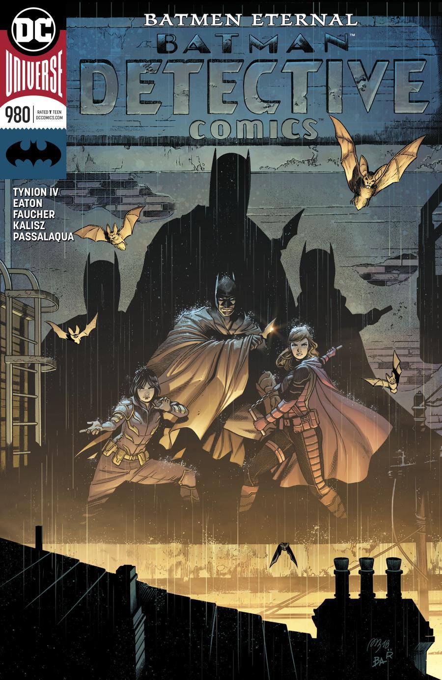 Detective Comics Vol 2 #980 Cover A Regular Alvaro Martinez & Raul Fernandez Cover