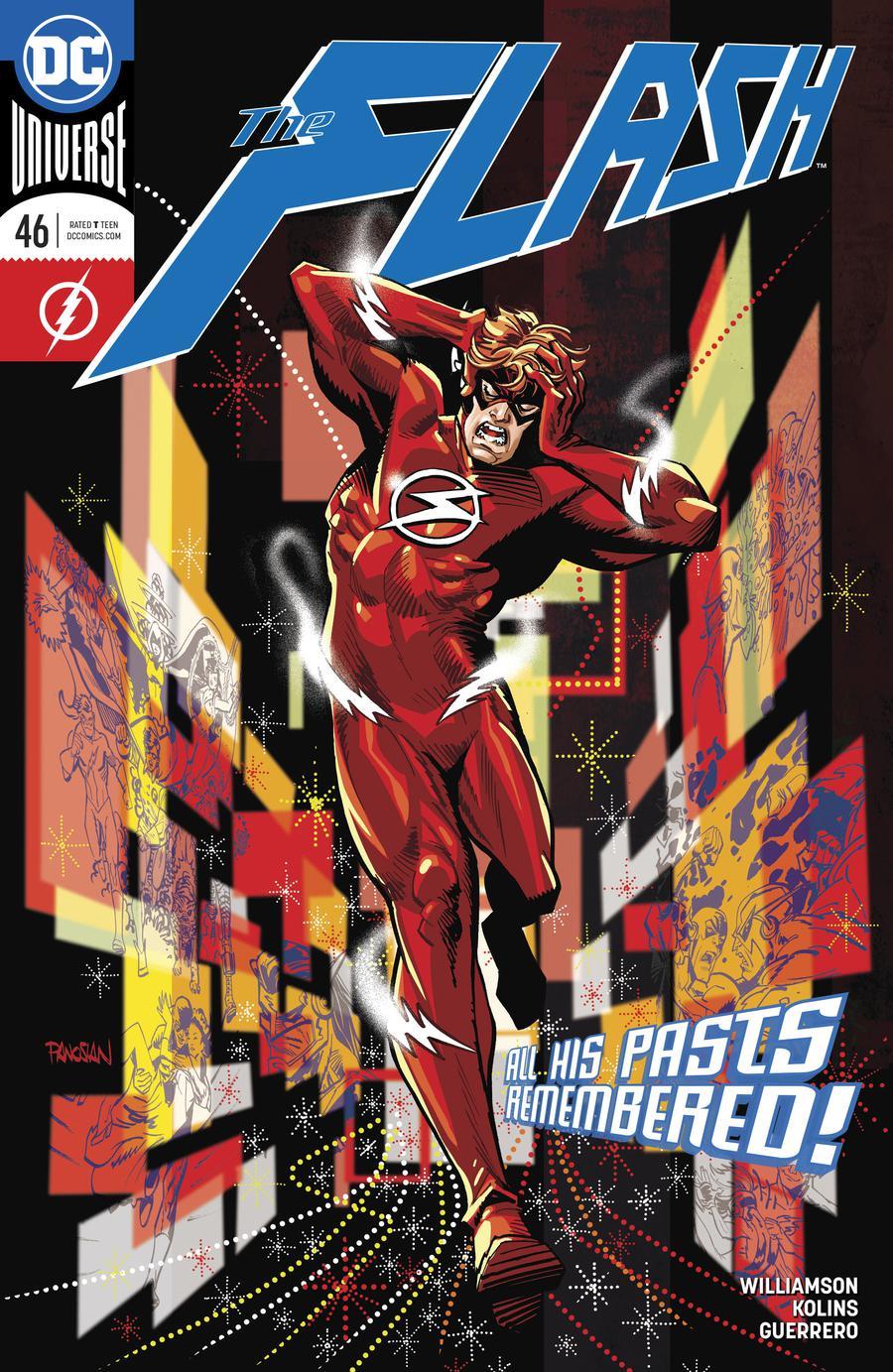 Flash Vol 5 #46 Cover A Regular Dan Panosian Cover