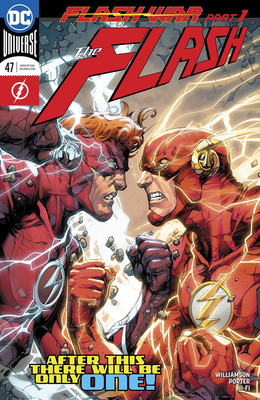 Flash Vol 5 #47 Cover A 1st Ptg Regular Howard Porter Cover