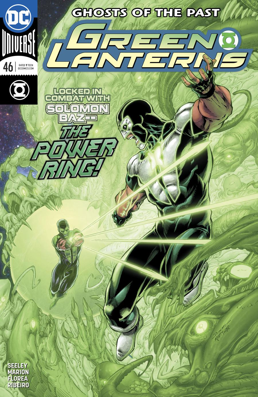Green Lanterns #46 Cover A Regular Brett Booth & Norm Rapmund Cover