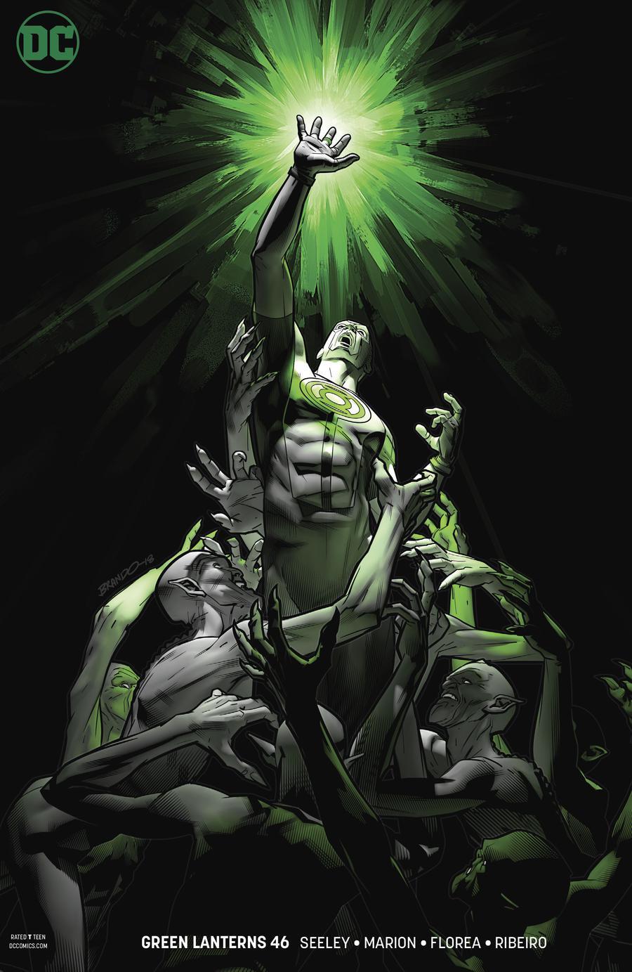 Green Lanterns #46 Cover B Variant Brandon Peterson Cover