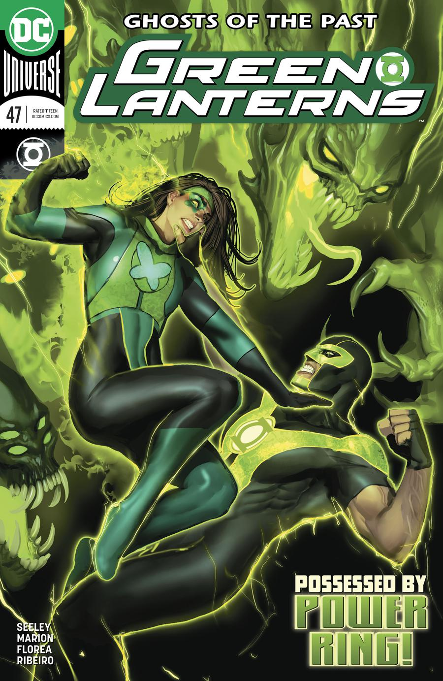 Green Lanterns #47 Cover A Regular Stjepan Sejic Cover