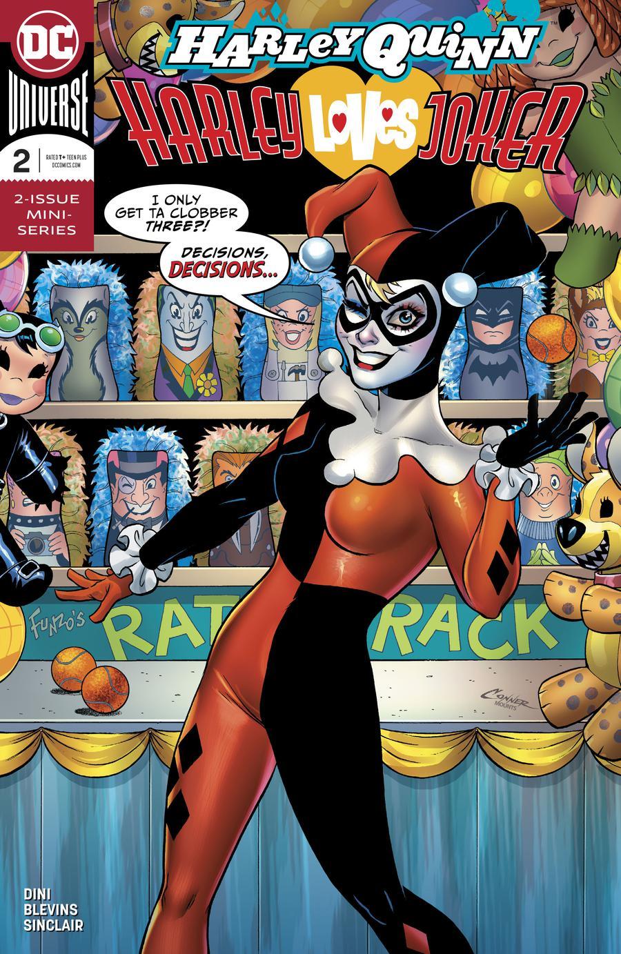 Harley Quinn Harley Loves Joker #2 Cover A Regular Amanda Conner Cover