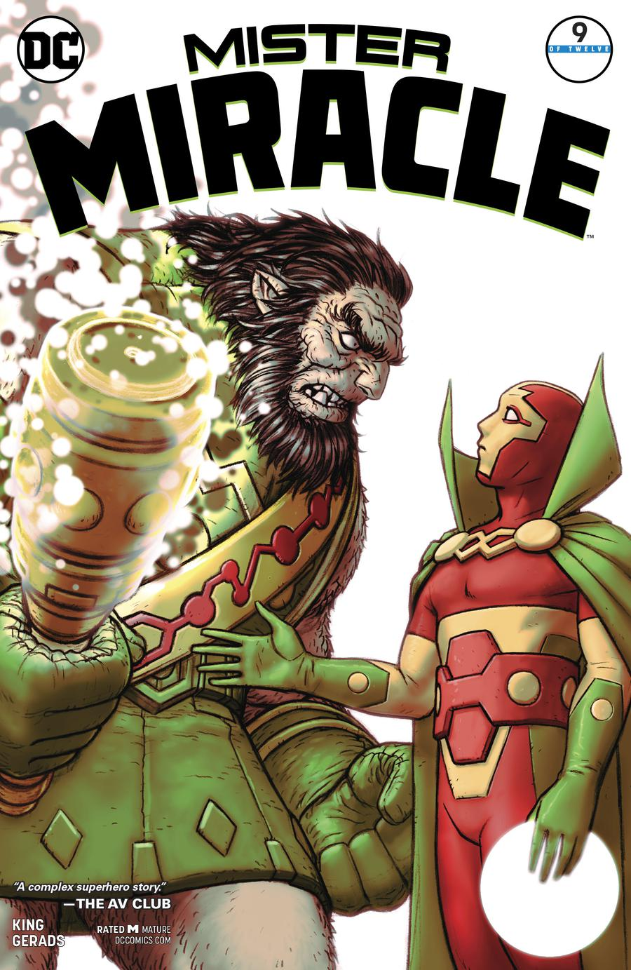 Mister Miracle Vol 4 #9 Cover A Regular Nick Derington Cover