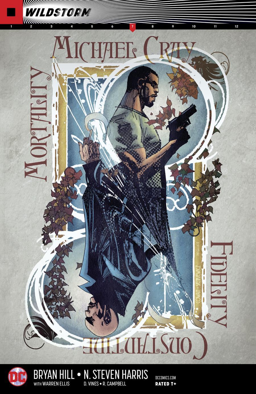 Wildstorm Michael Cray #7 Cover A Regular Denys Cowan & Bill Sienkiewicz Cover