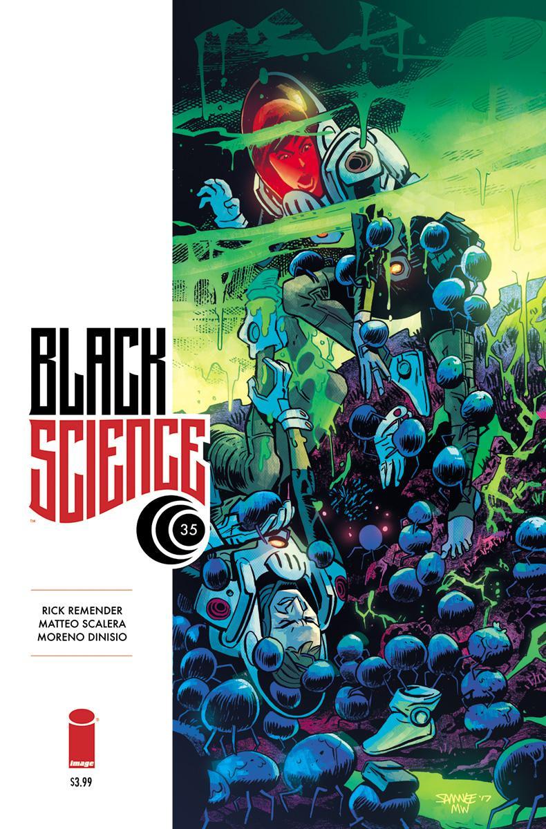 Black Science #35 Cover B Variant Chris Samnee Cover