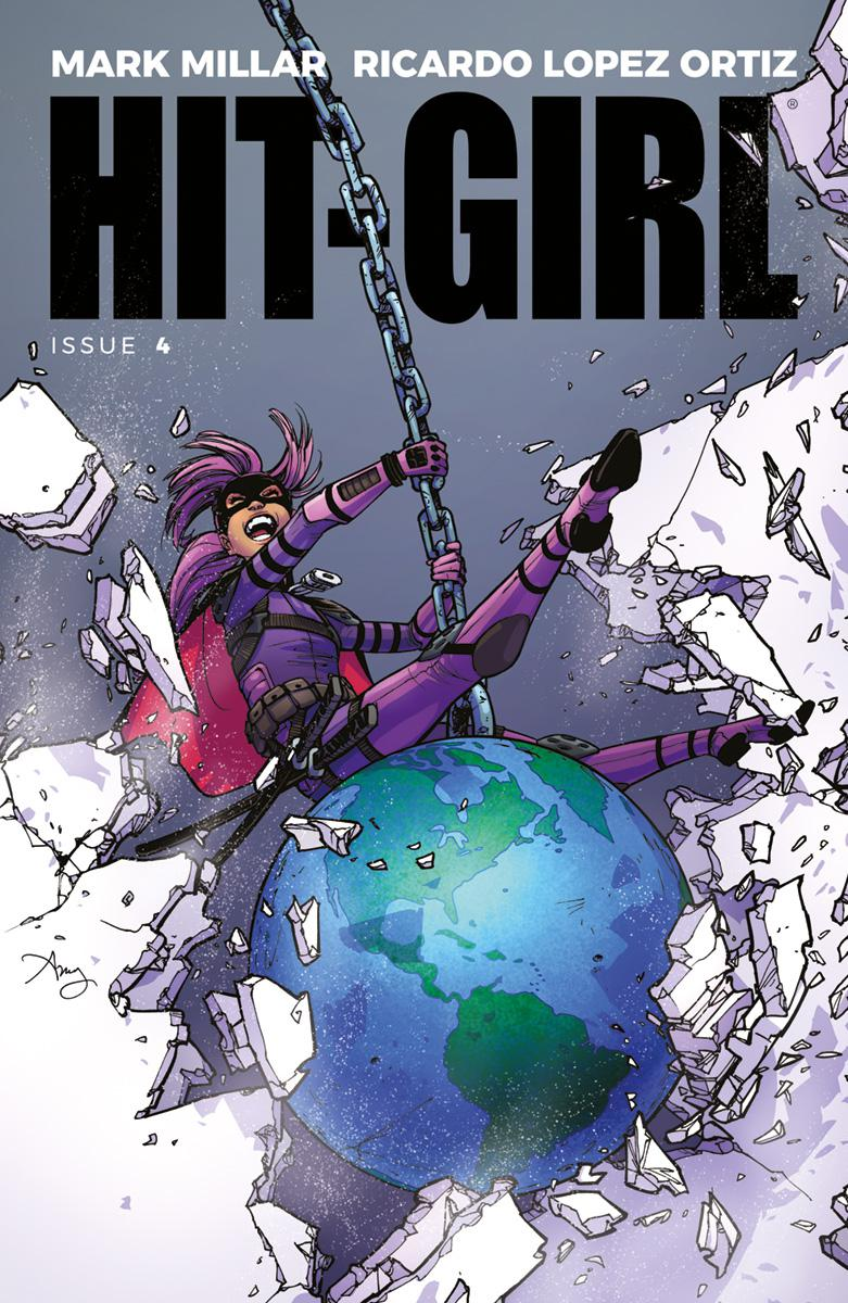 Hit-Girl Vol 2 #4 Cover A Regular Amy Reeder Color Cover