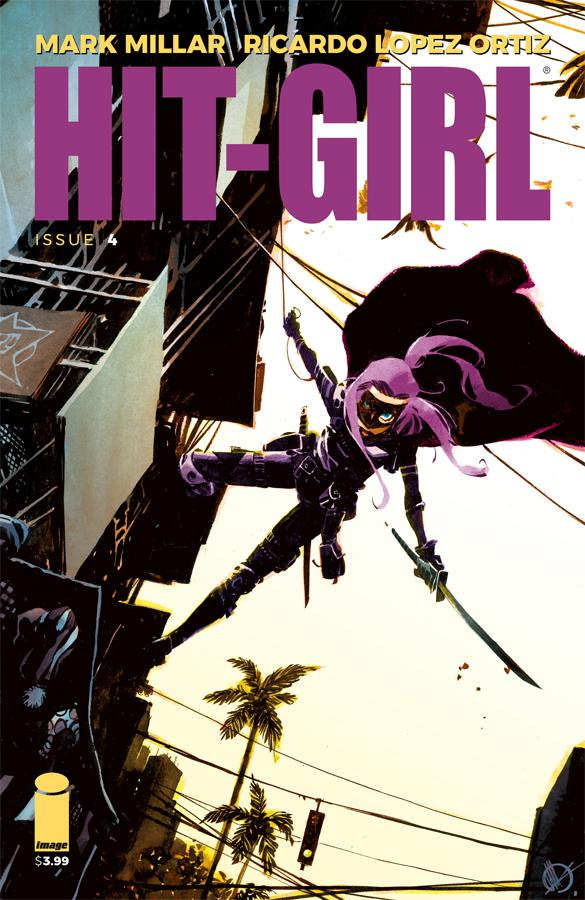Hit-Girl Vol 2 #4 Cover C Variant Matteo Scalera Cover