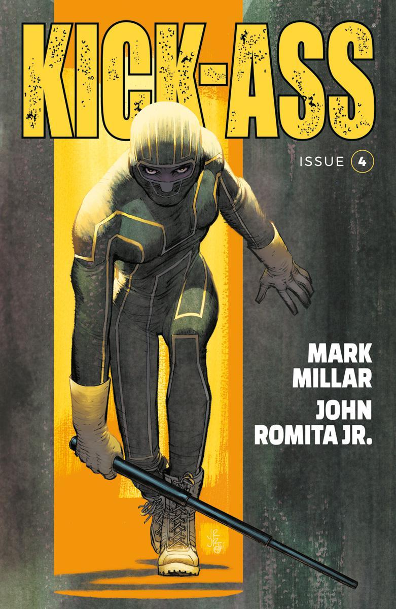Kick-Ass Vol 4 #4 Cover A Regular John Romita Jr Color Cover