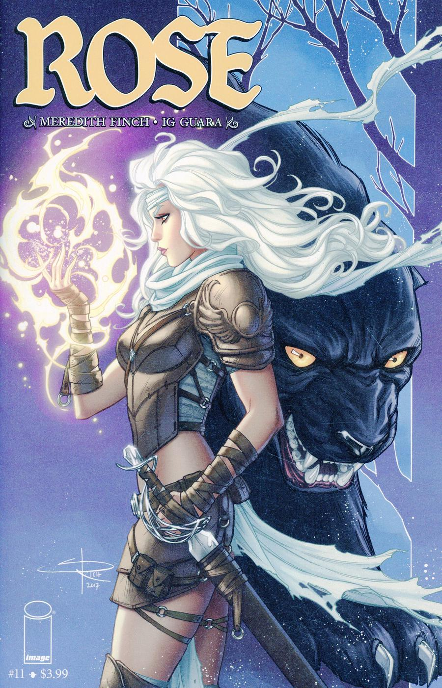 Rose #11 Cover C Variant Sabine Rich Cover