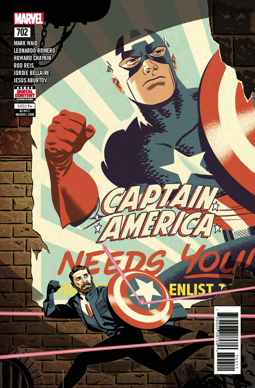 Captain America Vol 8 #702 Cover A Regular Michael Cho Cover