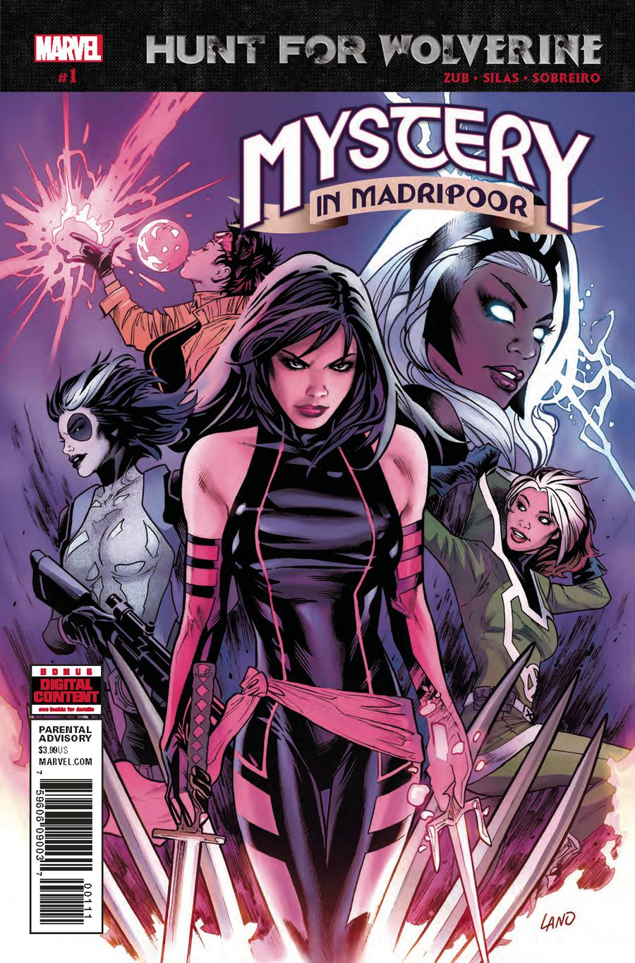 Hunt For Wolverine Mystery In Madripoor #1 Cover A 1st Ptg Regular Greg Land Cover