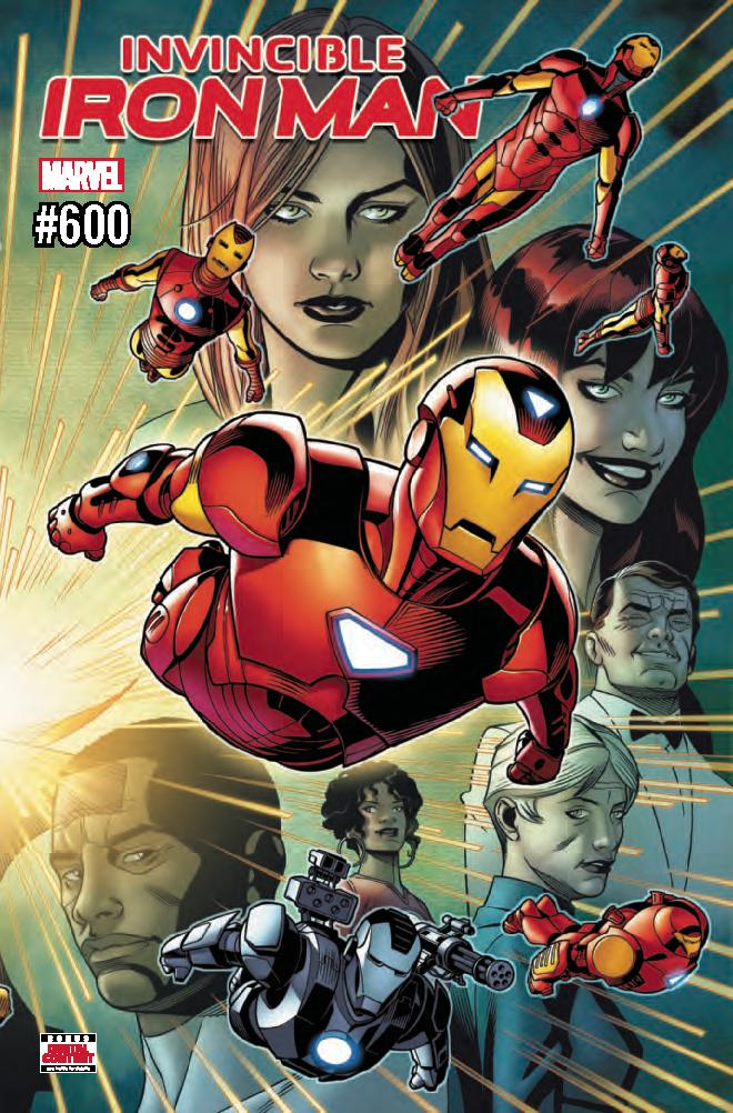 Invincible Iron Man Vol 3 #600 Cover A Regular Chris Sprouse Wraparound Cover