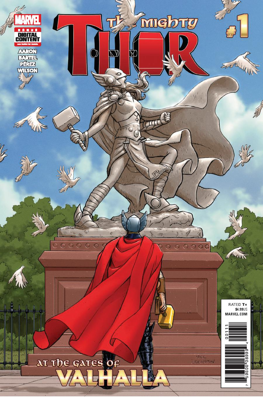 Mighty Thor At The Gates Of Valhalla #1 Cover A Regular Nick Derington Cover