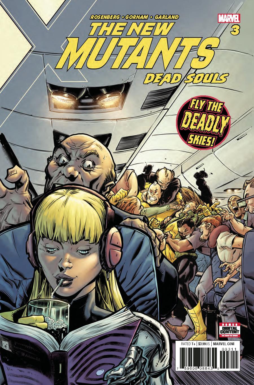 New Mutants Dead Souls #3