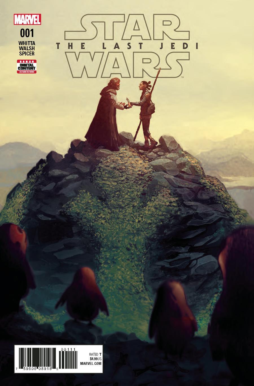 Star Wars Last Jedi Adaptation #1 Cover A Regular Mike Del Mundo Cover