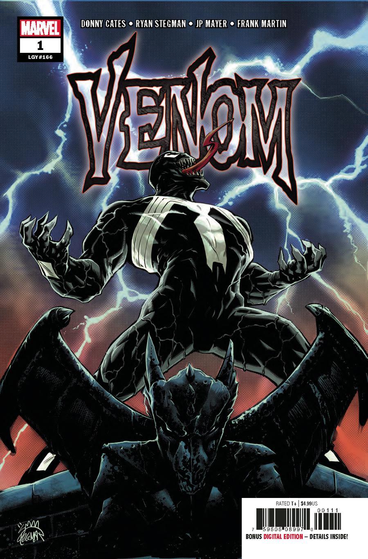 Venom Vol 4 #1 Cover A 1st Ptg Regular Ryan Stegman Cover
