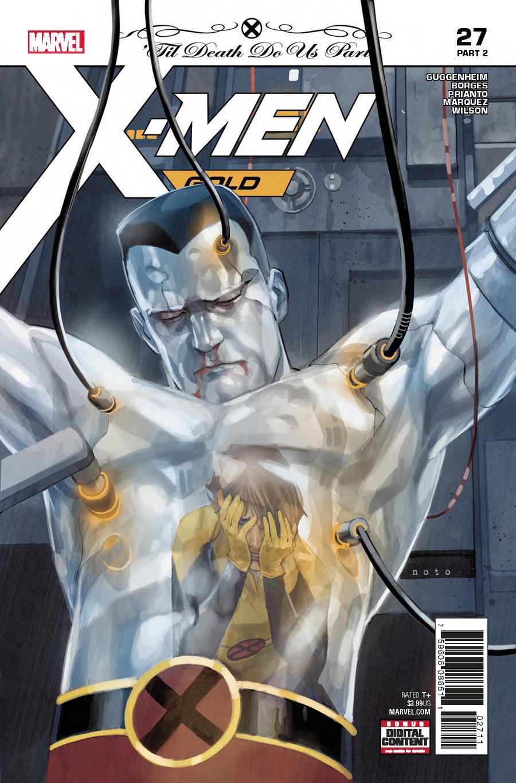X-Men Gold #27 Cover A 1st Ptg (Til Death Do Us Part Part 2)