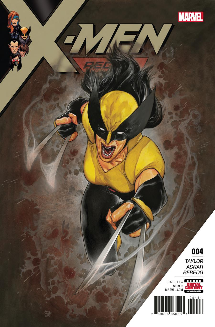 X-Men Red #4 Cover A Regular Travis Charest Cover