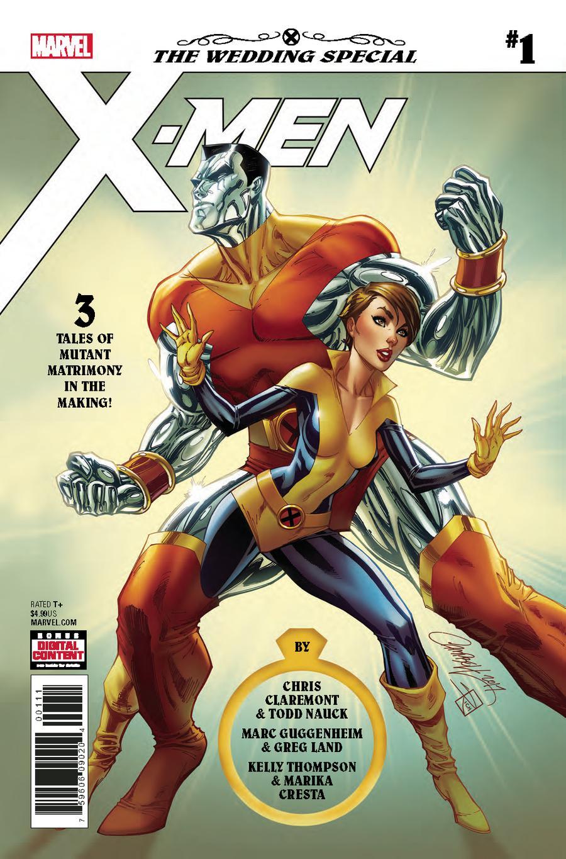 X-Men Wedding Special #1 Cover A 1st Ptg Regular J Scott Campbell Cover (Til Death Do Us Part Part 3)