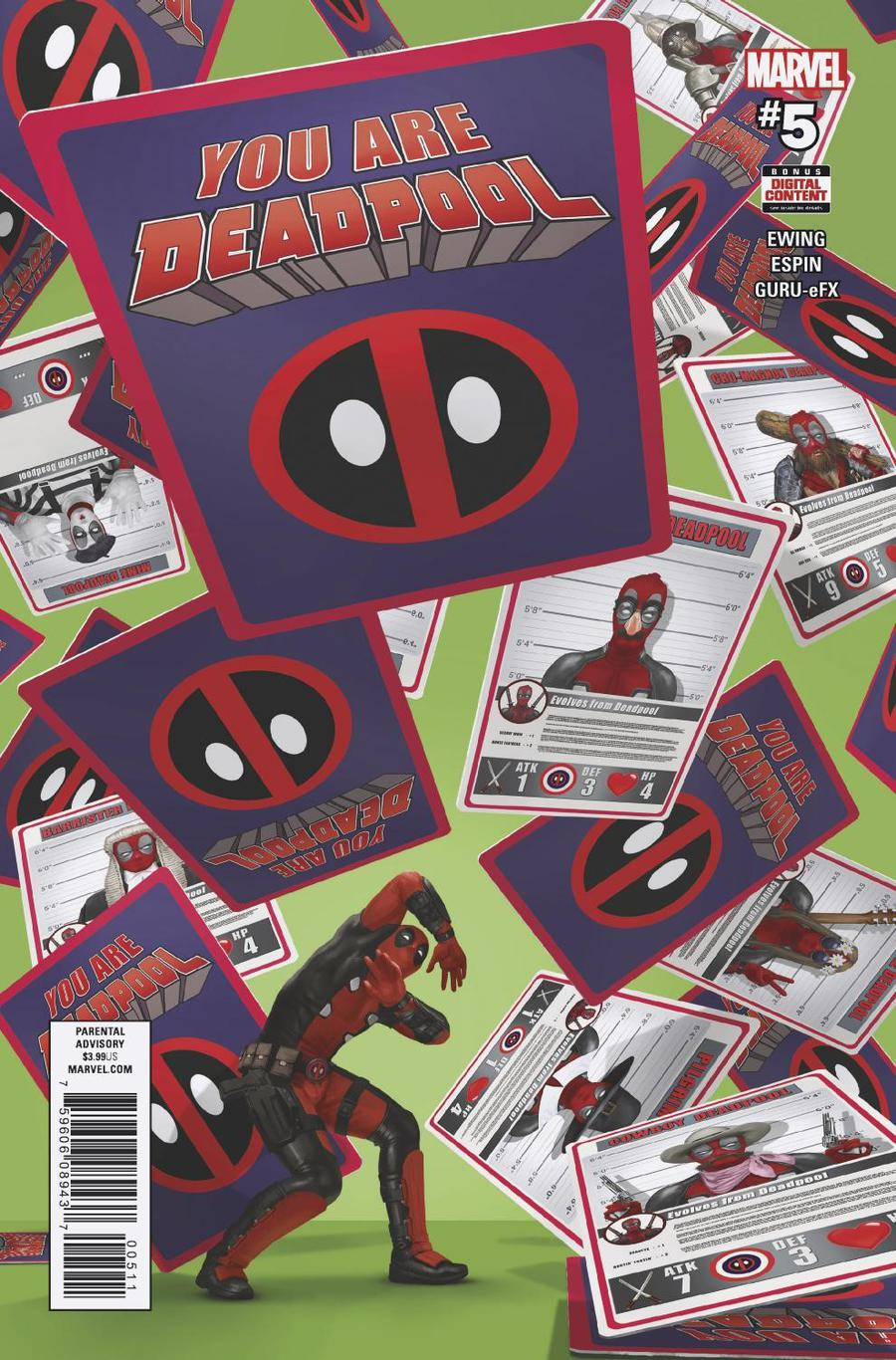 You Are Deadpool #5 Cover A Regular Rahzzah Cover