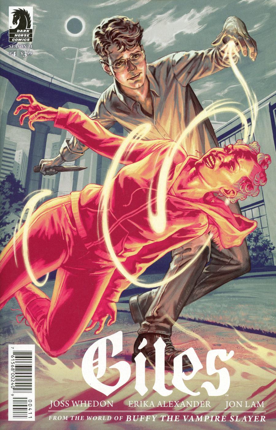 Buffy The Vampire Slayer Season 11 Giles #4 Cover A Regular Steve Morris Cover
