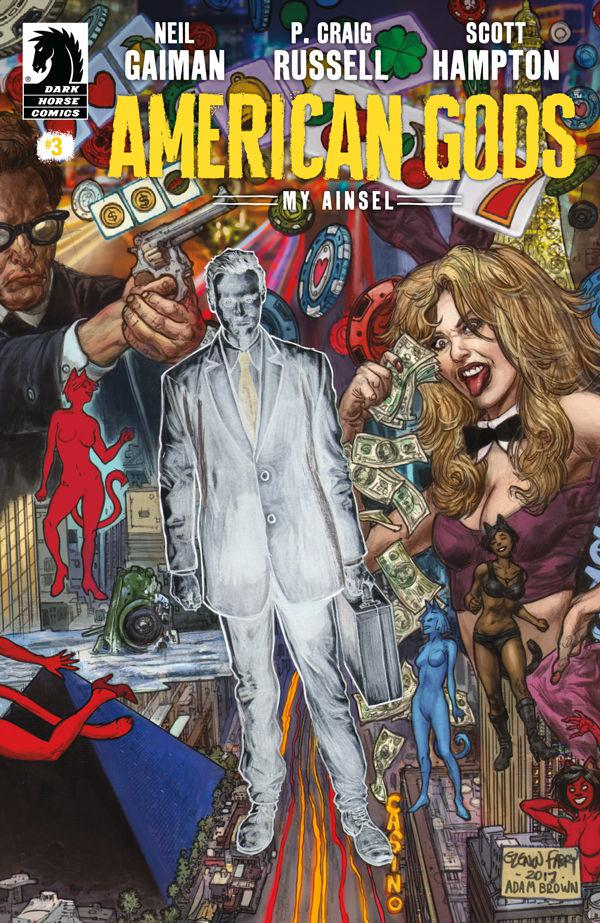 American Gods My Ainsel #3 Cover A Regular Glenn Fabry & Adam Brown Cover