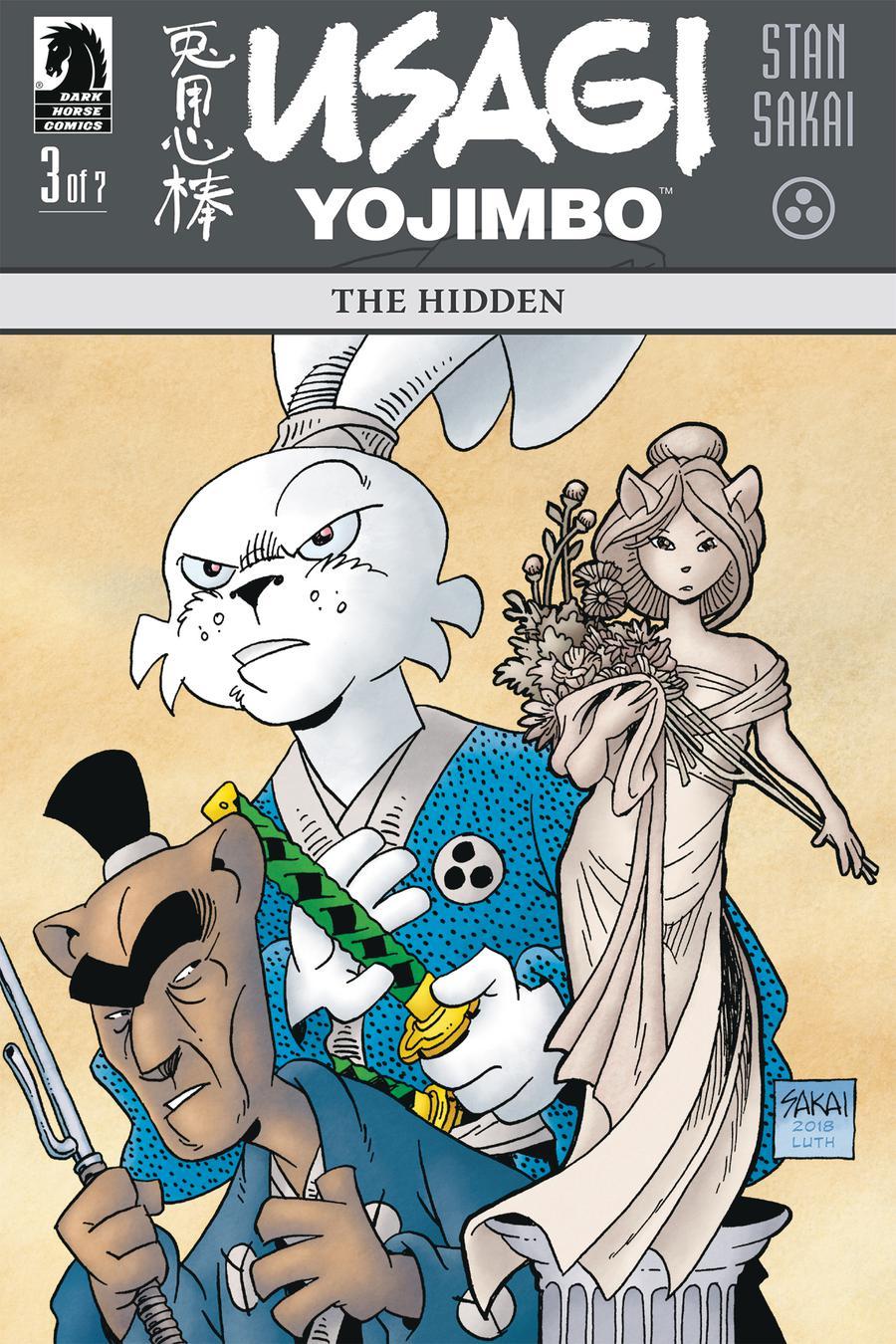 Usagi Yojimbo The Hidden #3