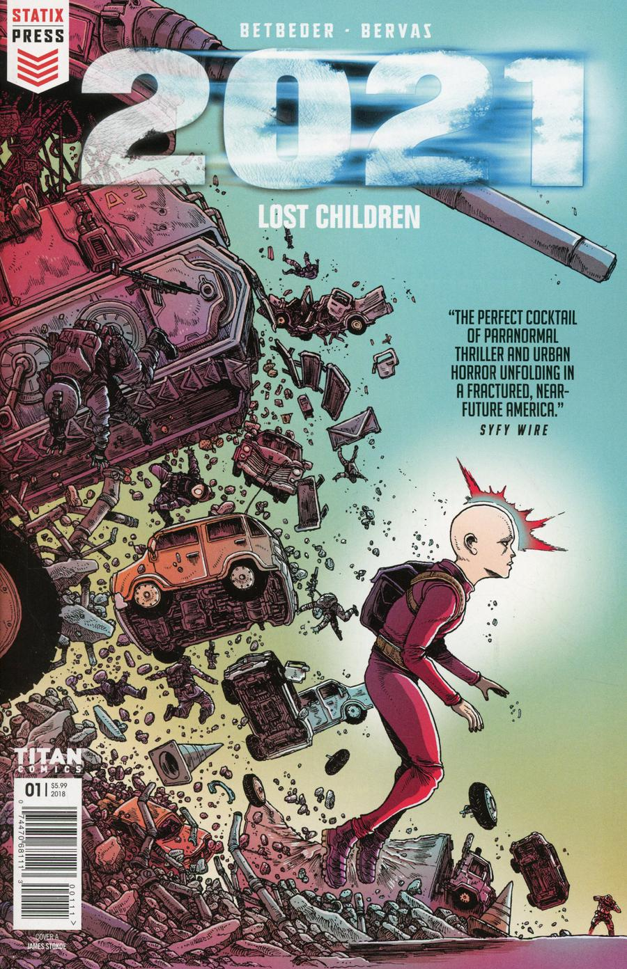 2021 Lost Children #1 Cover A Regular James Stokoe Color Cover