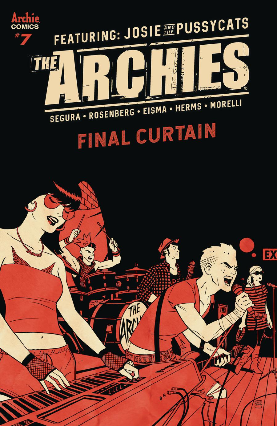 Archies #7 Cover B Variant Cliff Chiang Cover