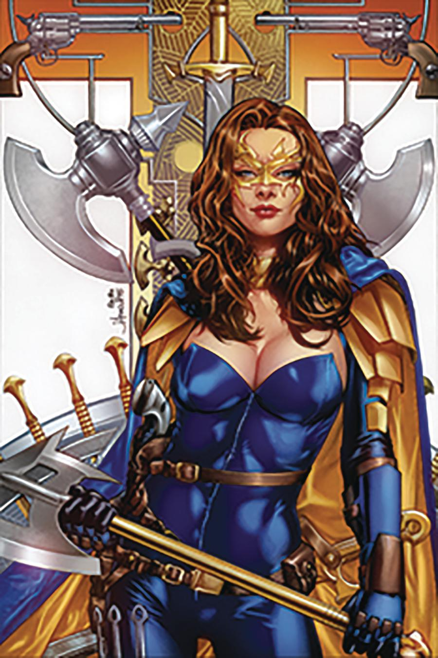 Grimm Fairy Tales Presents Belle Beast Hunter #5 Cover C Jay Anacleto