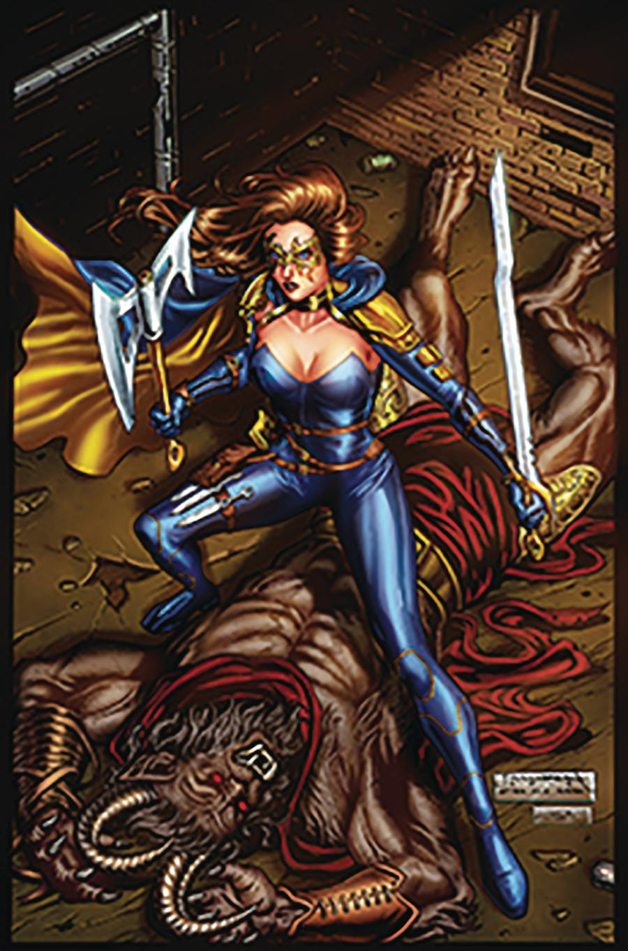 Grimm Fairy Tales Presents Belle Beast Hunter #5 Cover D Julius Abrera
