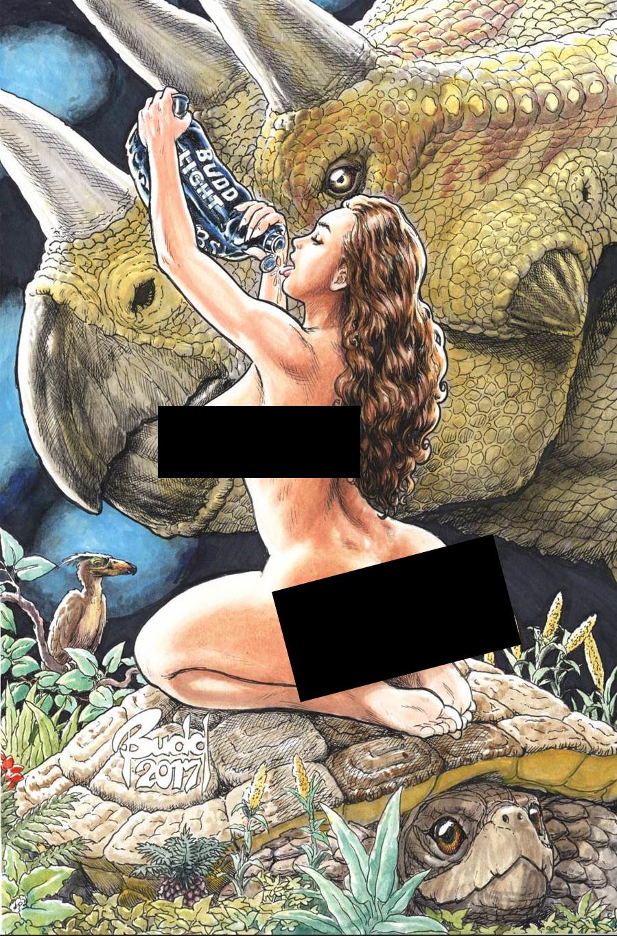 Cavewoman Raptorellas Revenge #1 Cover E Variant Budd Root Cover