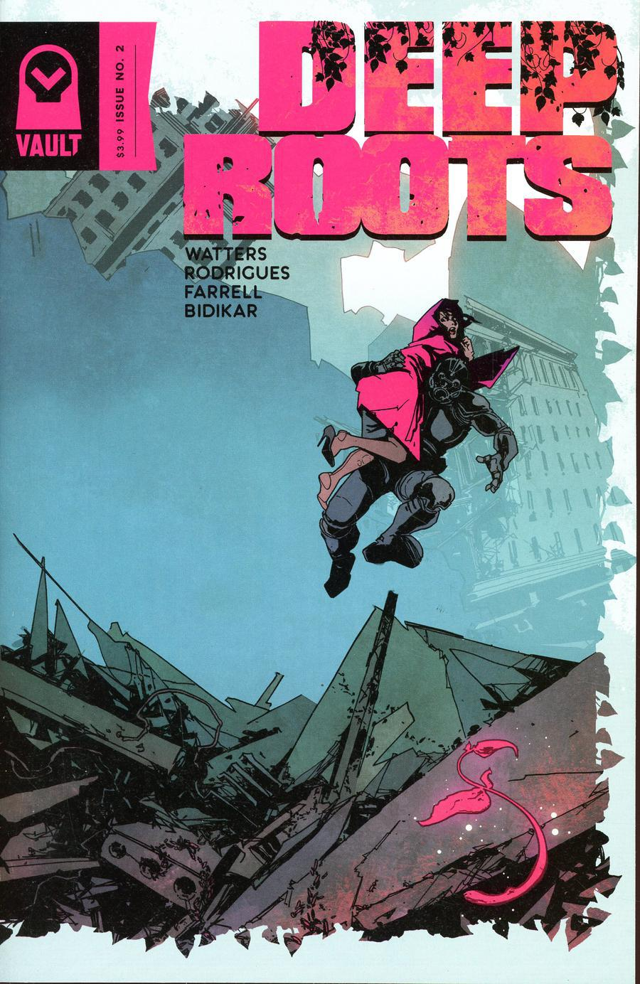 Deep Roots #2 Cover B Variant Dani Strips Cover