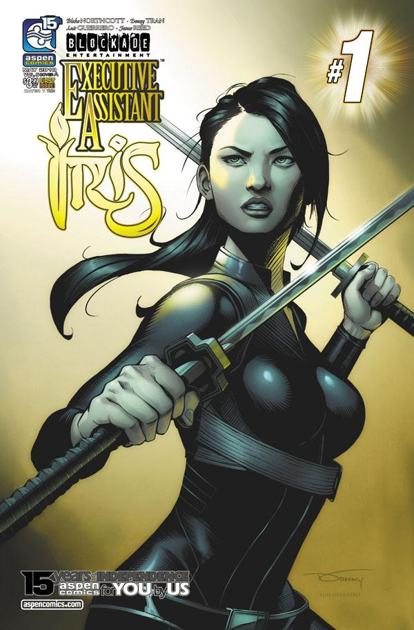Executive Assistant Iris Vol 4 #1 Cover A Regular Donny Tran Cover