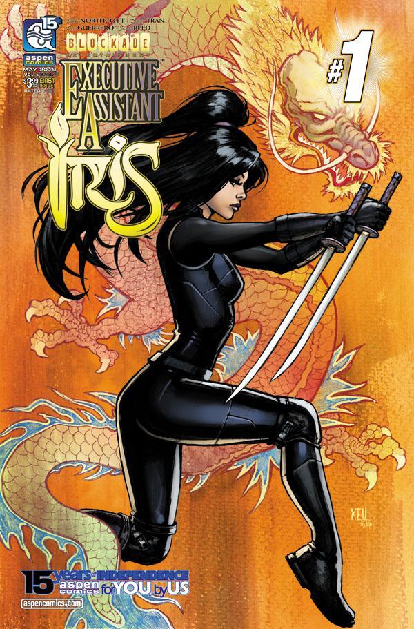 Executive Assistant Iris Vol 4 #1 Cover B Variant Keu Cha Cover
