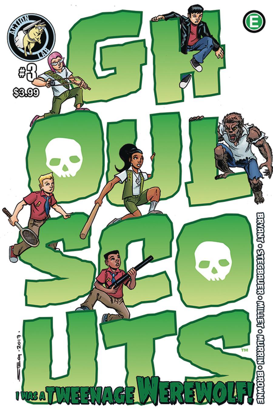 Ghoul Scouts I Was A Tweenage Werewolf #3