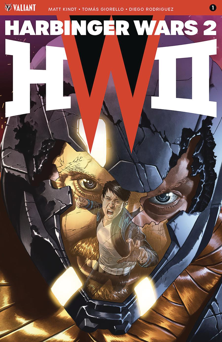 Harbinger Wars 2 #1 Cover B Variant Mico Suayan Cover