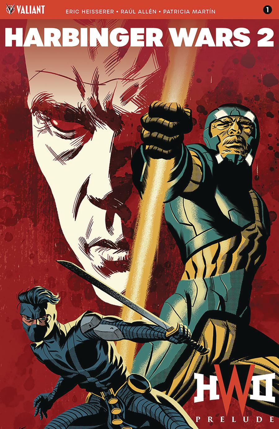Harbinger Wars 2 Prelude #1 Cover B Variant Michael Cho Cover