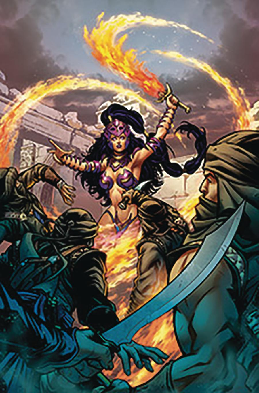 Grimm Fairy Tales Presents Jasmine Crown Of Kings #1 Cover B Riveiro
